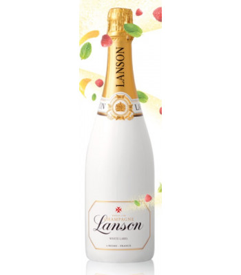 Lanson Champagne White Label Sec Dry Reims France