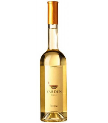 Muscat Yarden 2009 Galil Golan Heights Winery, obj. 0,5 L, Alk 14 % obj.