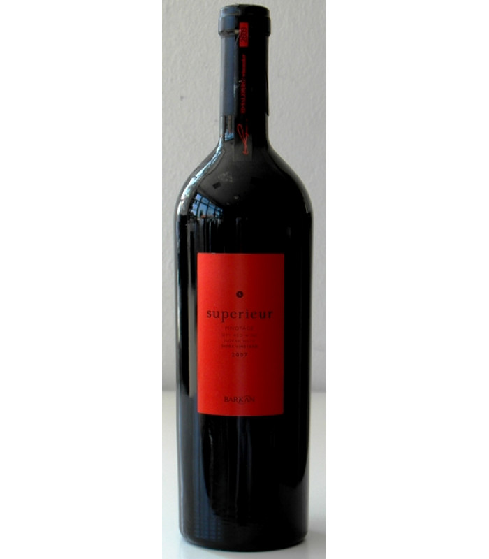 Pinotage 2007 Superieur Barkan wines Israel Galil