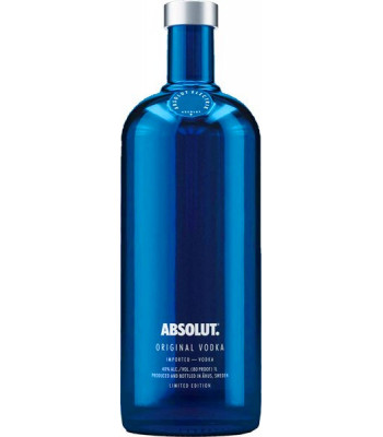 VYPREDANÉ - ABSOLUT VODKA ORIGINAL ELECTRIC Limited edition Alk. 40 % obj., Objem 0,7 L
