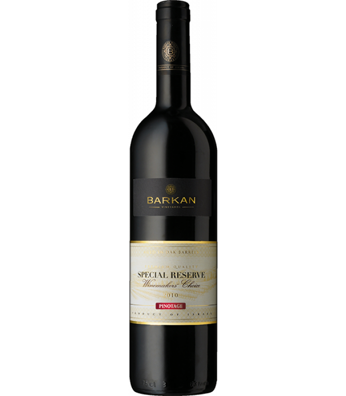 PINOTAGE 2013 Barkan Special Reserve Winemakers Choice, obj. 0,75 L, Alk. 13.5 % obj.