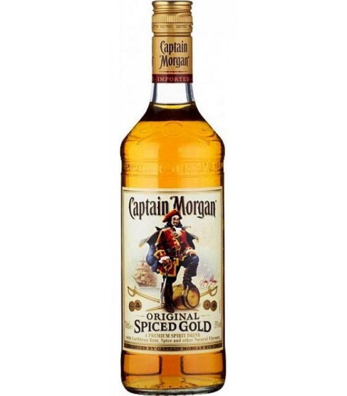 CAPTAIN MORGAN Original spiced gold with Caribbean Rum