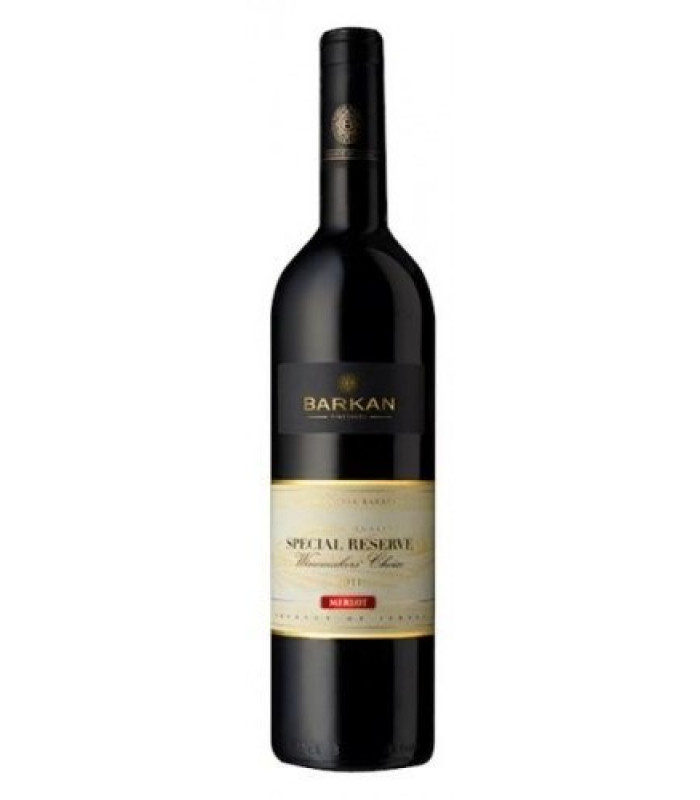 MERLOT Special Reserve Winemakers Choise 2012 Barkan vineyerds, obj. 0,75 L Alk. 14% obj.