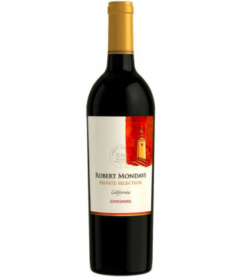 ZINFANDEL 2013 Robert Mondavi private selection California USA, obj. 0,75 L, Alk. 13,5 % obj.